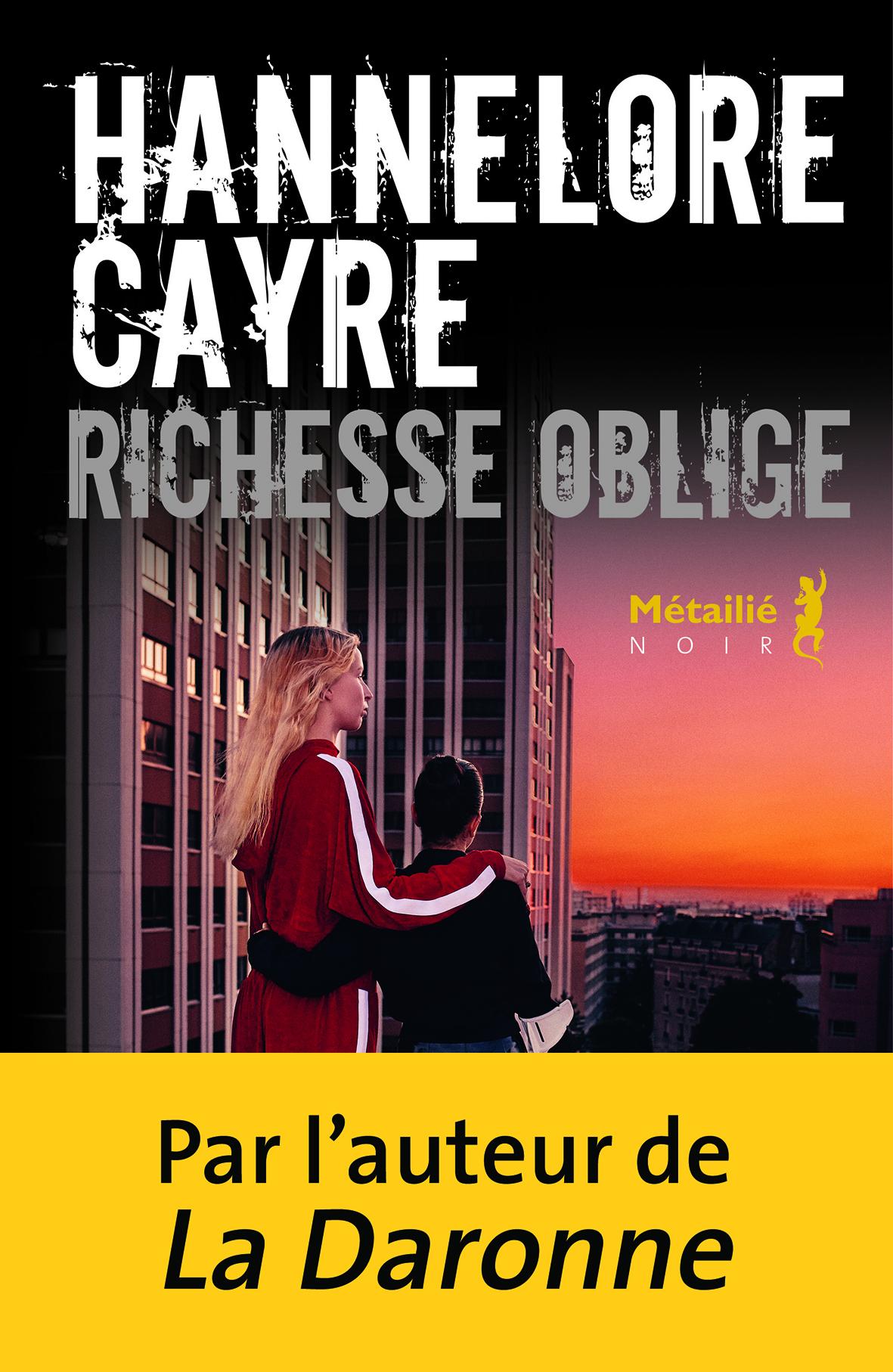 Richesse oblige - Editions Métailié